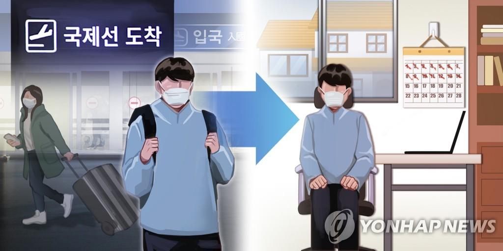 在韩又5名居家隔离违规外国人被强制出境