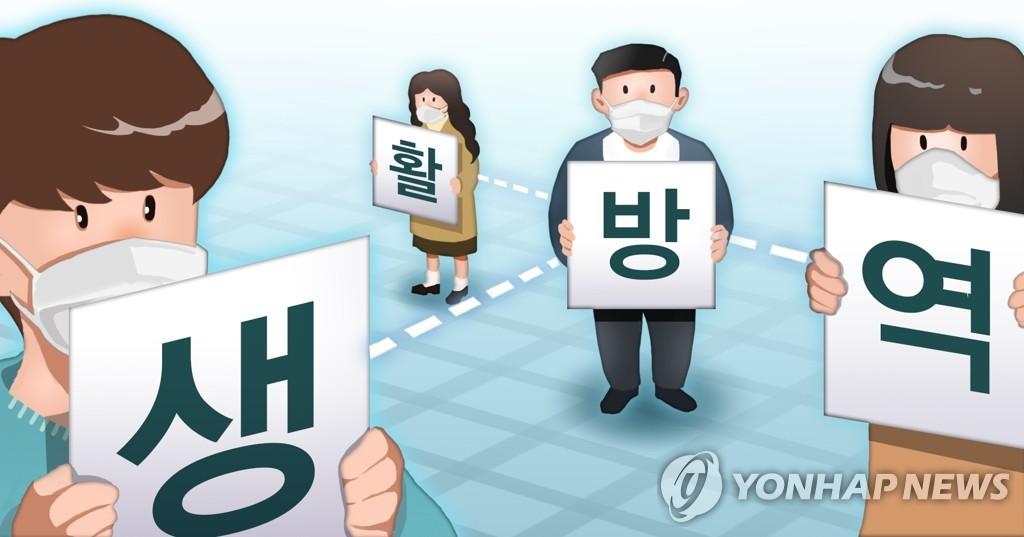 韩国生活防疫指南草案明公布