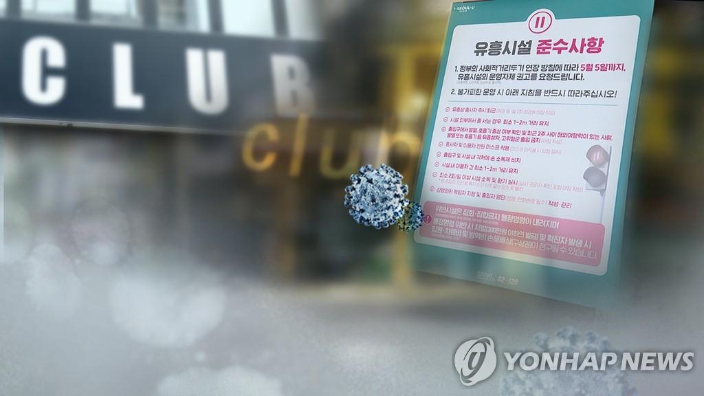 韩国夜店相关新冠病例传播5代增至225例