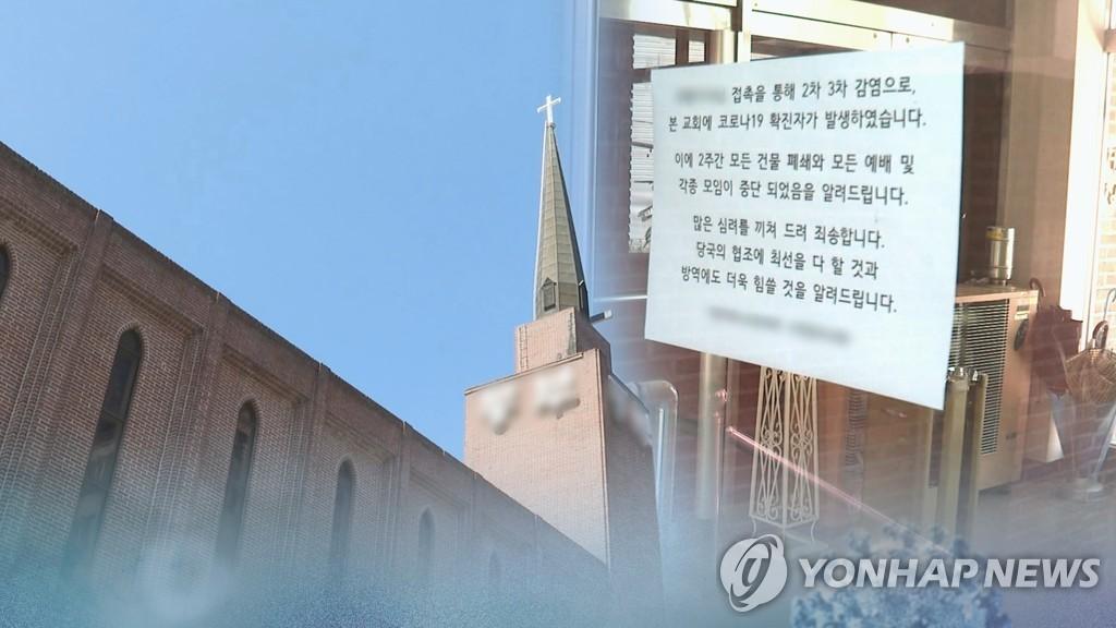 韩首都圈教会相关新冠疫情继续扩散