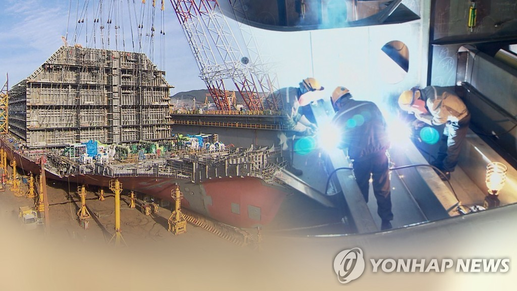 韩国船企订单量有望连续3年领跑全球