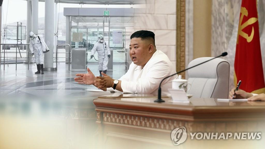 韩统一部:朝鲜经济面临制裁疫情洪灾三重考验