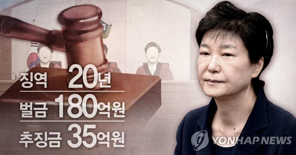 韩检方不服朴槿惠案重审判决再提起抗诉