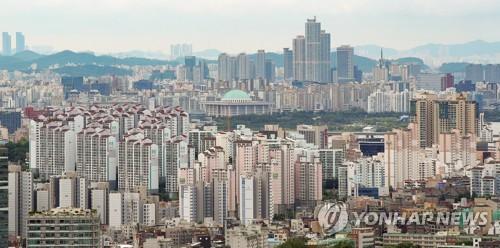 韩2019年房产总市值近30万亿元 较GDP多1.64倍