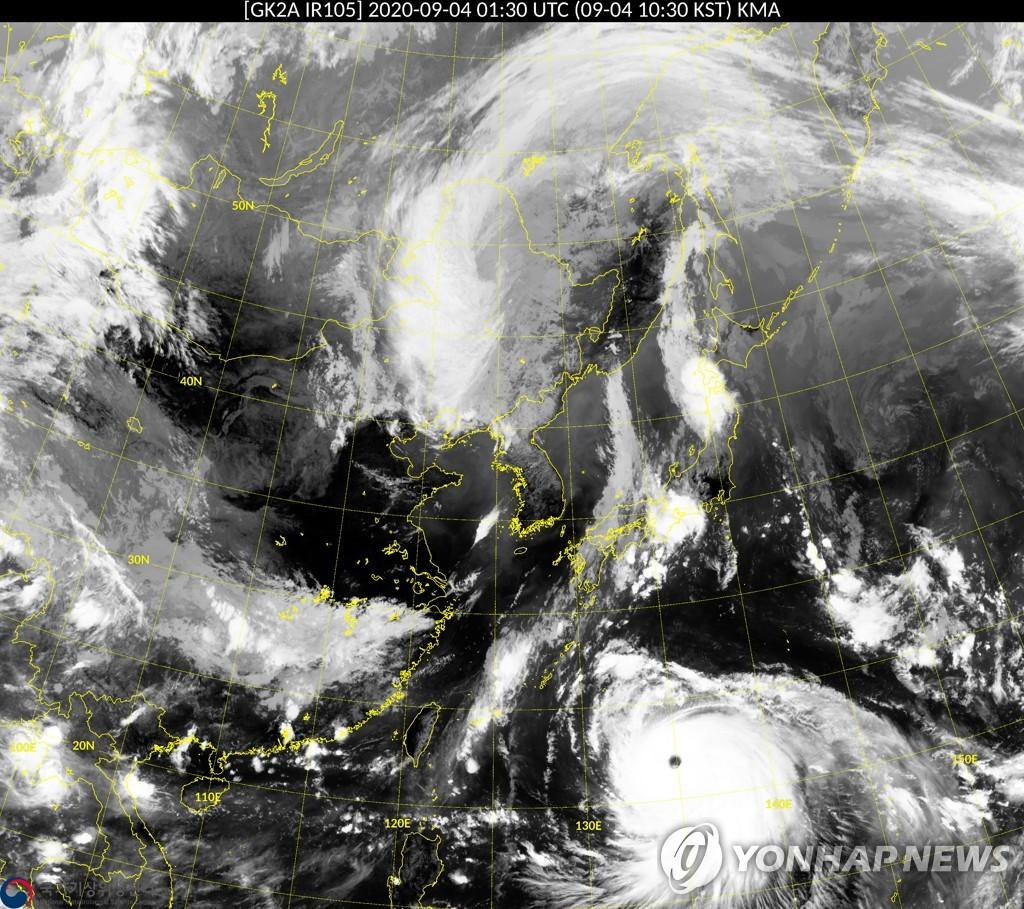 """台风""""海神""""7日或将登陆韩国"""