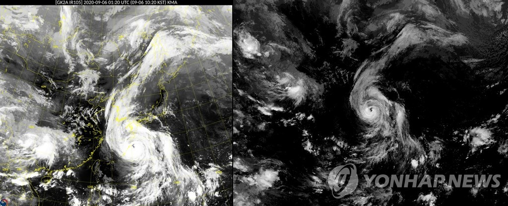 """韩国上调台风预警应对""""海神""""来袭"""