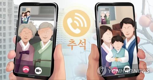 调查:逾六成韩国人计划只与家人过中秋