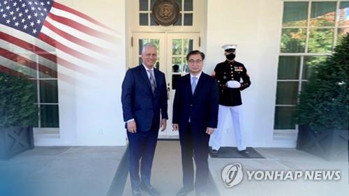 韩青瓦台:美国国安助理奥布莱恩拟下月访韩