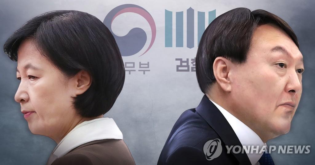韩法务部就法院裁决检察总长返岗提出抗告