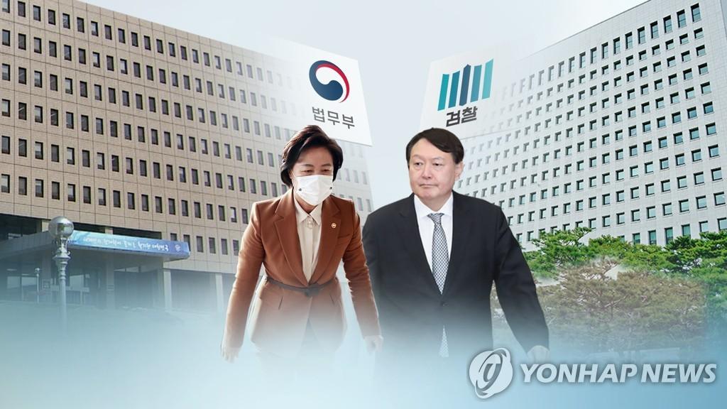 韩法务部监察委:对检察总长停职命令不当