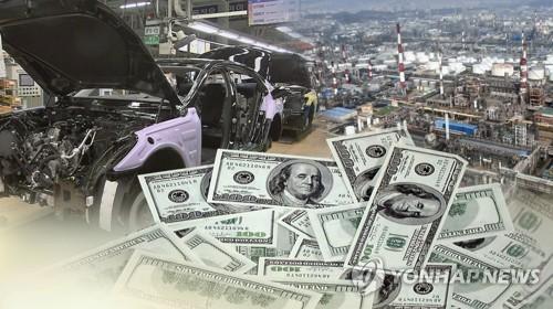 详讯:韩6月国际收支经常项目顺差88.5亿美元