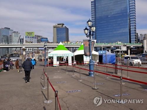 简讯:韩国新增1029例新冠确诊病例 累计61769例