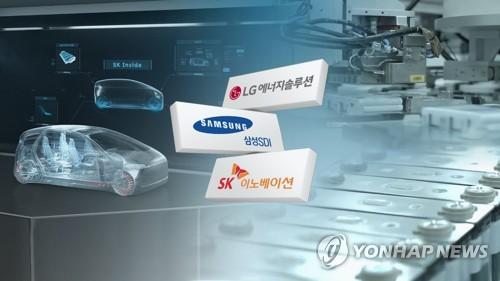 韩动力电池三巨头今年前8月装机量同比大增