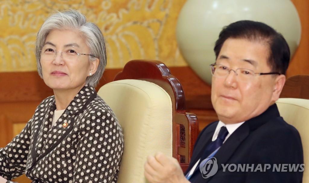 详讯:韩国总统外交特助郑义溶获外长提名