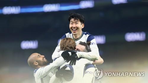 孙兴慜英超单赛季进22球破个人纪录