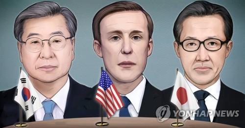 韩美日国安首长重申合作应对朝鲜无核化问题