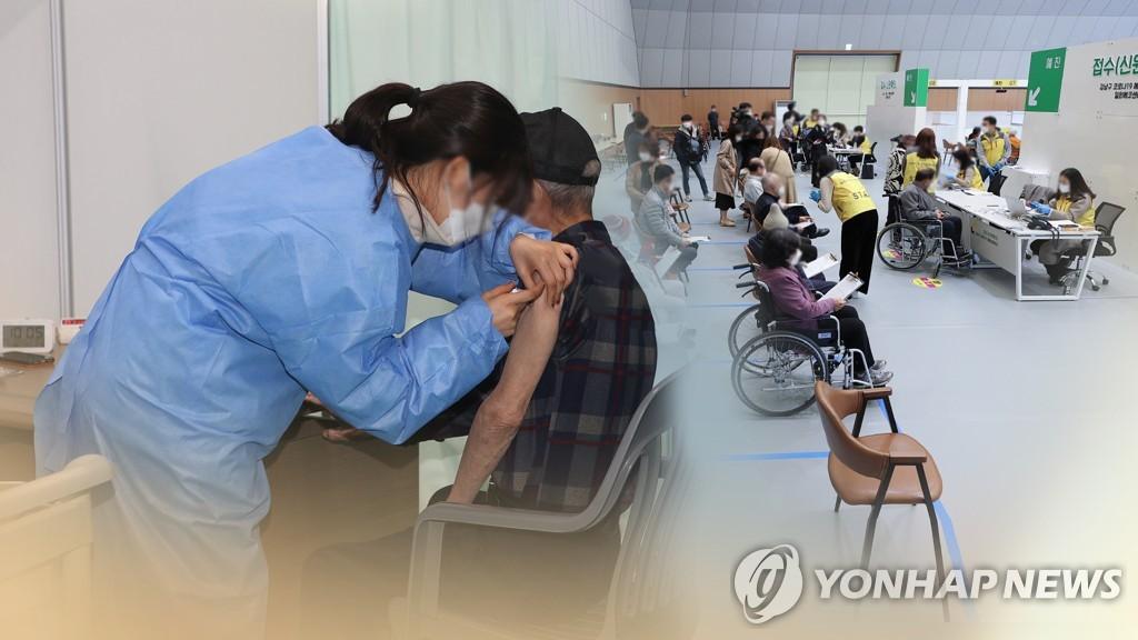 韩明起接受70至74岁老年人新冠疫苗接种预约