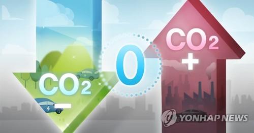 统计:韩国温室气体排放量连续两年下降
