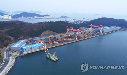 韩国大鲜造船获中国船厂10艘集装箱船订单