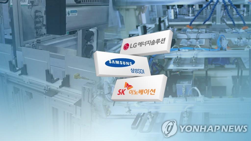 韩电池三巨头上半年全球市占率34.9%