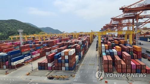 韩国7月前10天出口同比增14.1%