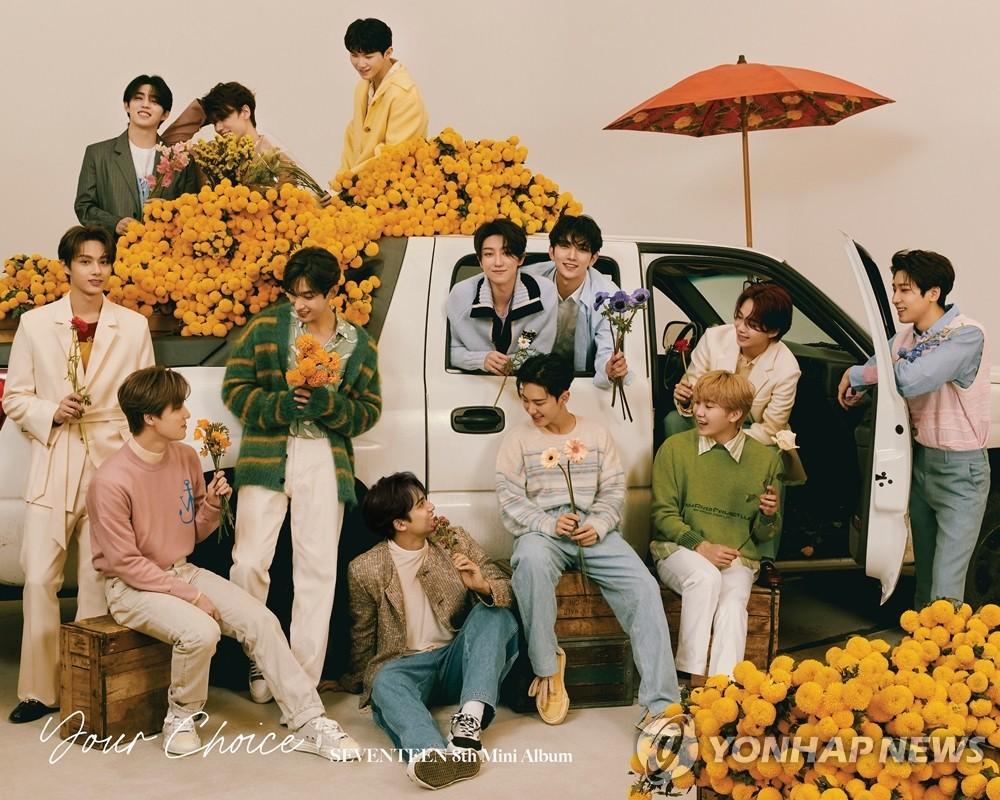 K-POP四支组合同时跻身公告牌200强专辑榜