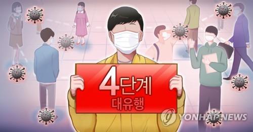 韩防疫部门:最高防控级别不奏效时将考虑更严管控