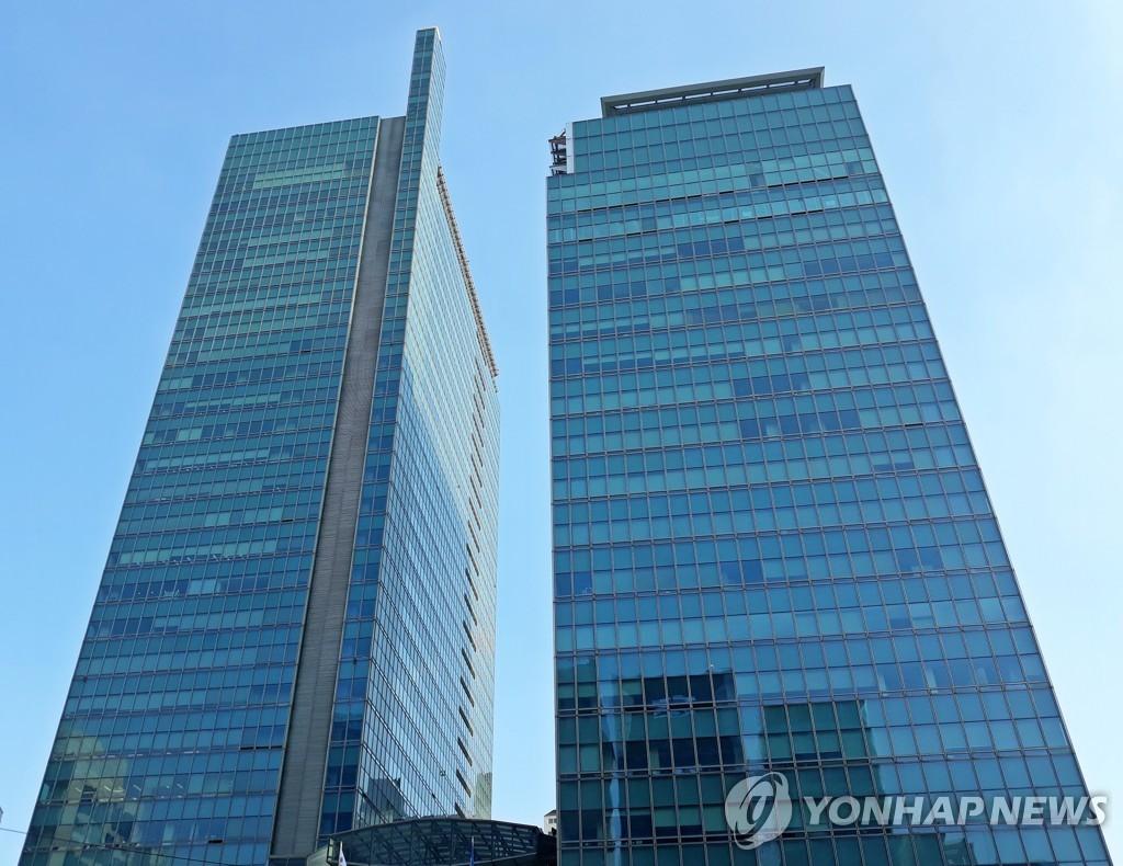资料图片:POSCO大厦 韩联社
