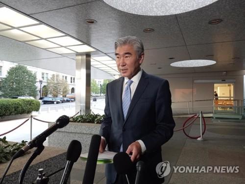 韩美对朝特别代表明在首尔会晤