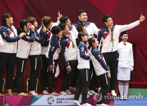 韩朝柔道联队将角逐世锦赛男女混合团体项目