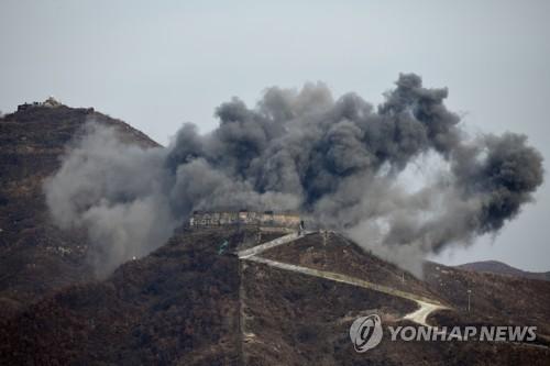 详讯:朝鲜炸毁非军事区10处哨所