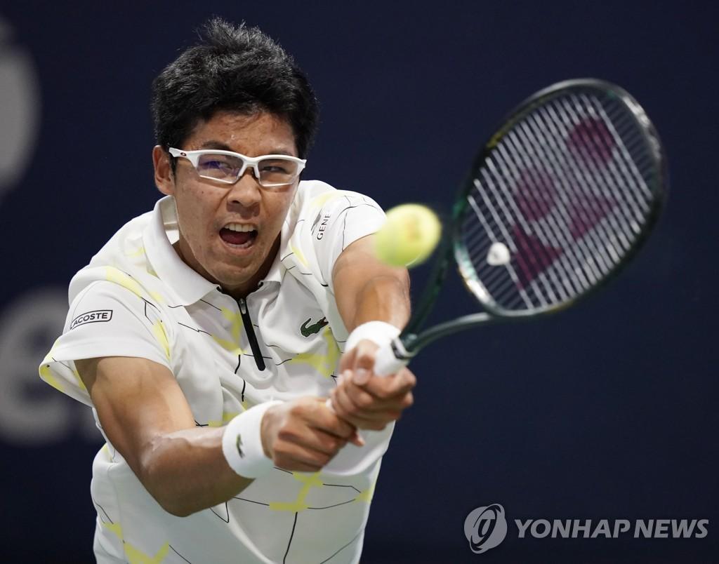韩国网球选手郑泫首次晋级美网第三轮
