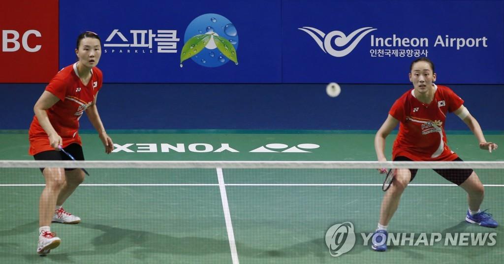 福州羽毛球公开赛 韩国女双组合摘银