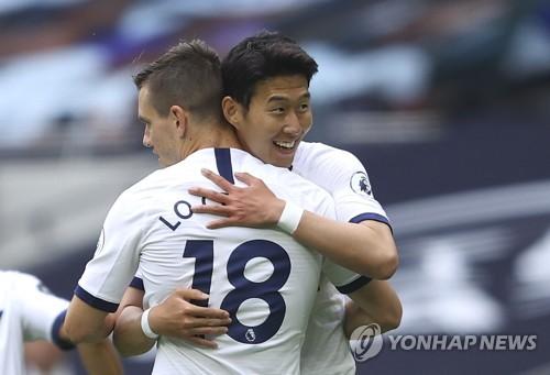 孙兴慜被热刺传奇球星评选为本赛季最佳球员