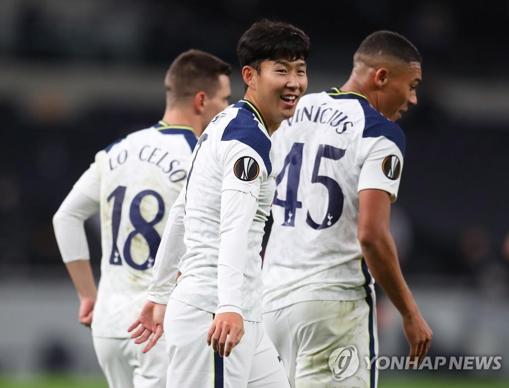 孙兴慜欧联首轮助热刺破门 本赛季已进9球