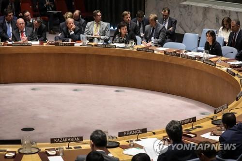 联合国安理会开会声援文金会推动无核化
