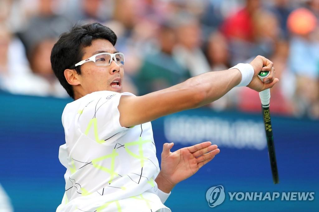 韩国选手郑泫不敌纳达尔止步美网第三轮