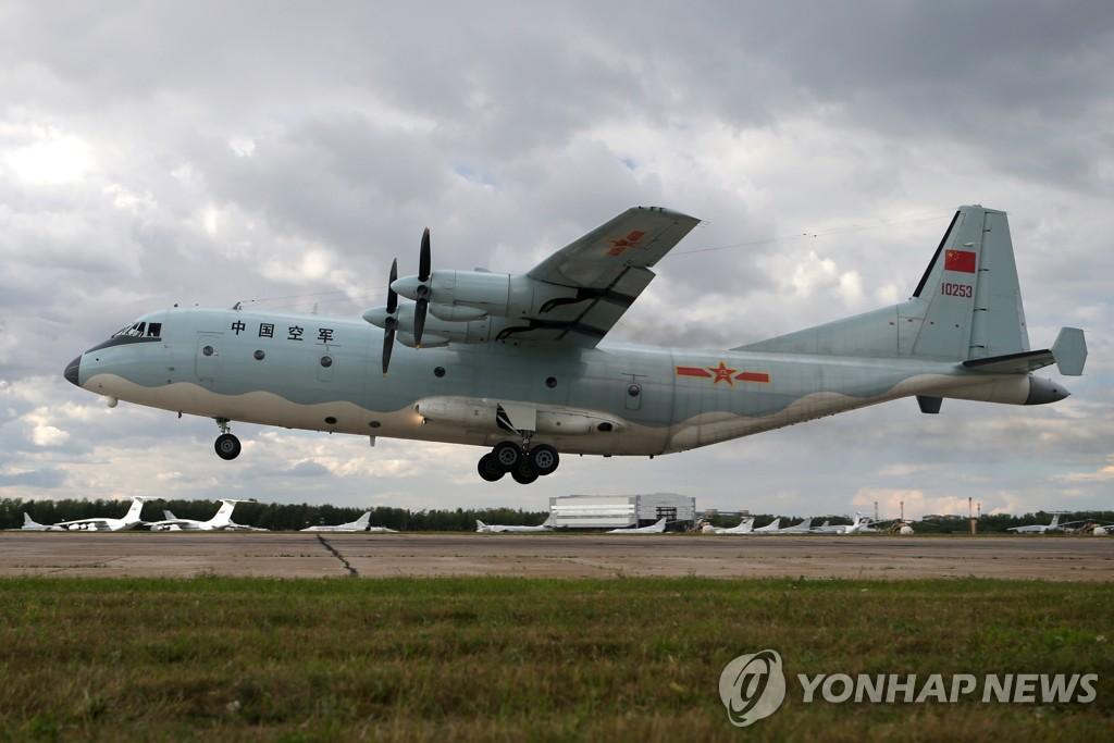详讯:一中国军机三入韩防识区飞5小时