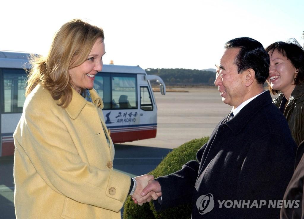 WFP总干事施林抵达朝鲜
