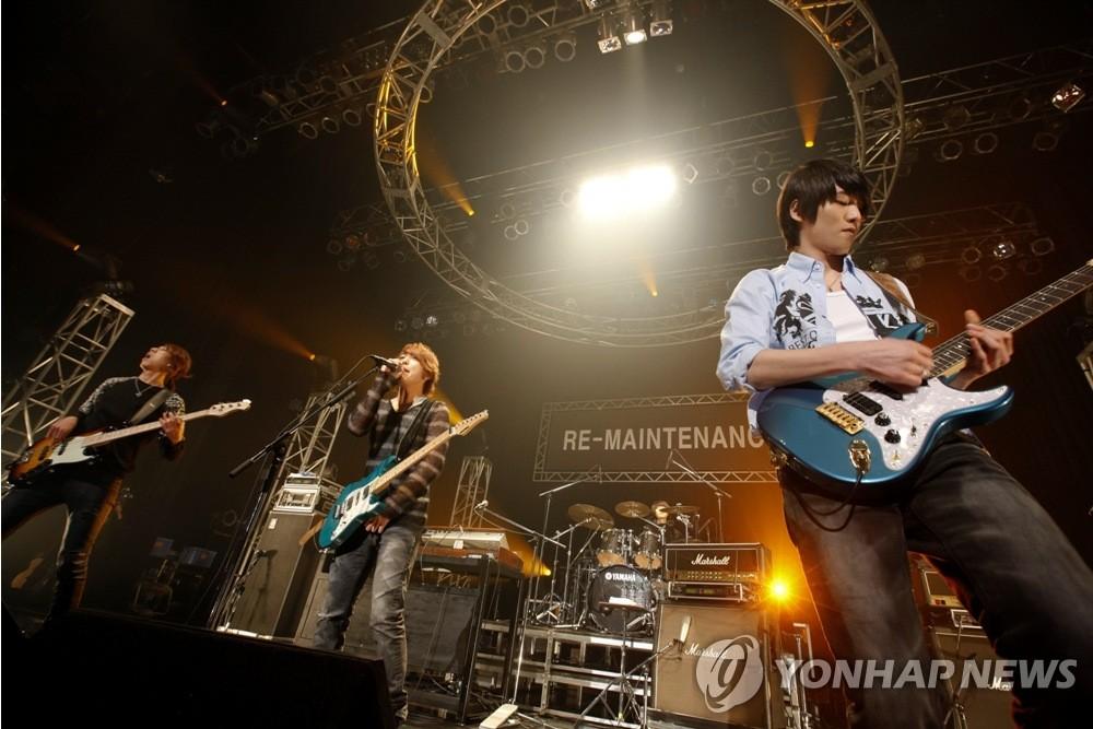 CNBLUE日本举行演唱会