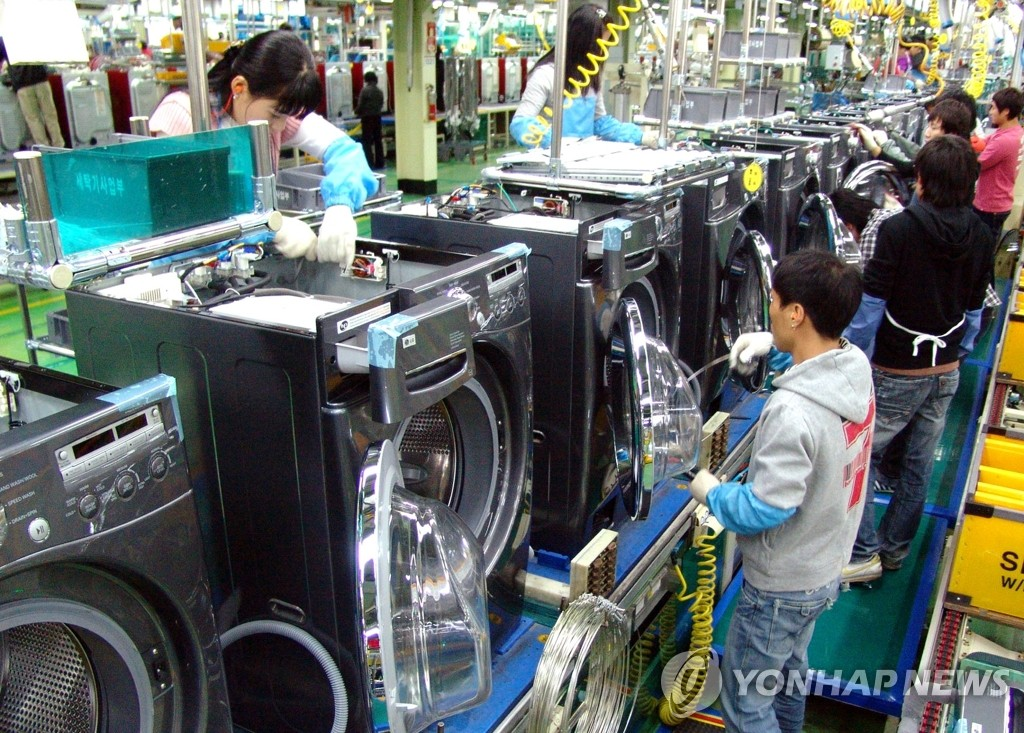 LG电子滚筒式洗衣机连续4年居美国市场冠军
