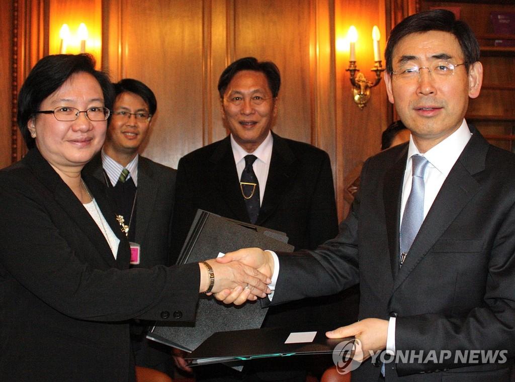 韩-老挝签有关老挝加入WTO的文件