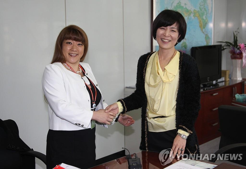 WFP政府关系局局长访问我国外交部