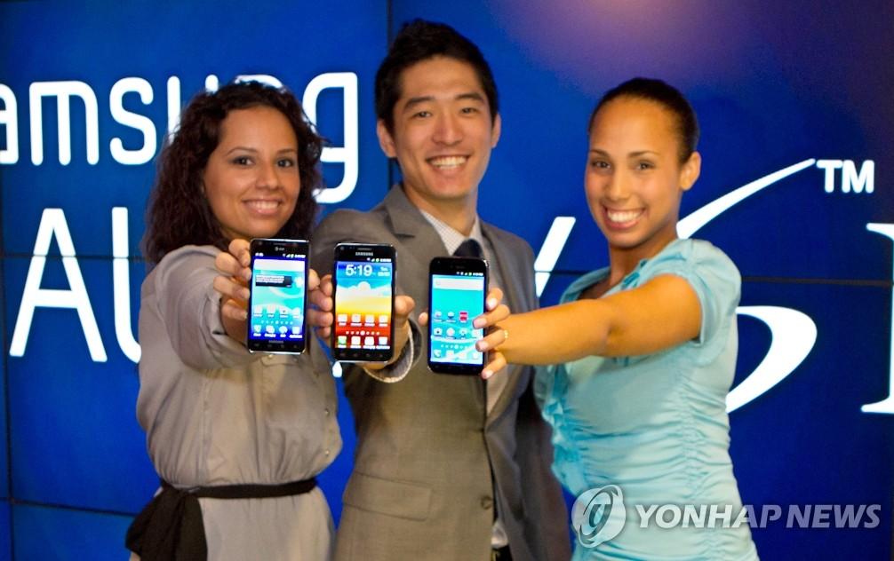 三星电子Galaxy SII终于在美国上市