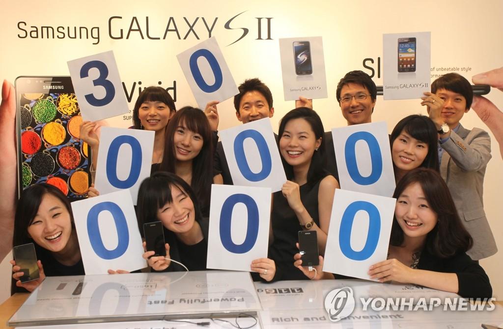 三星电子在美国手机市场占有率达25.3% 稳居冠军