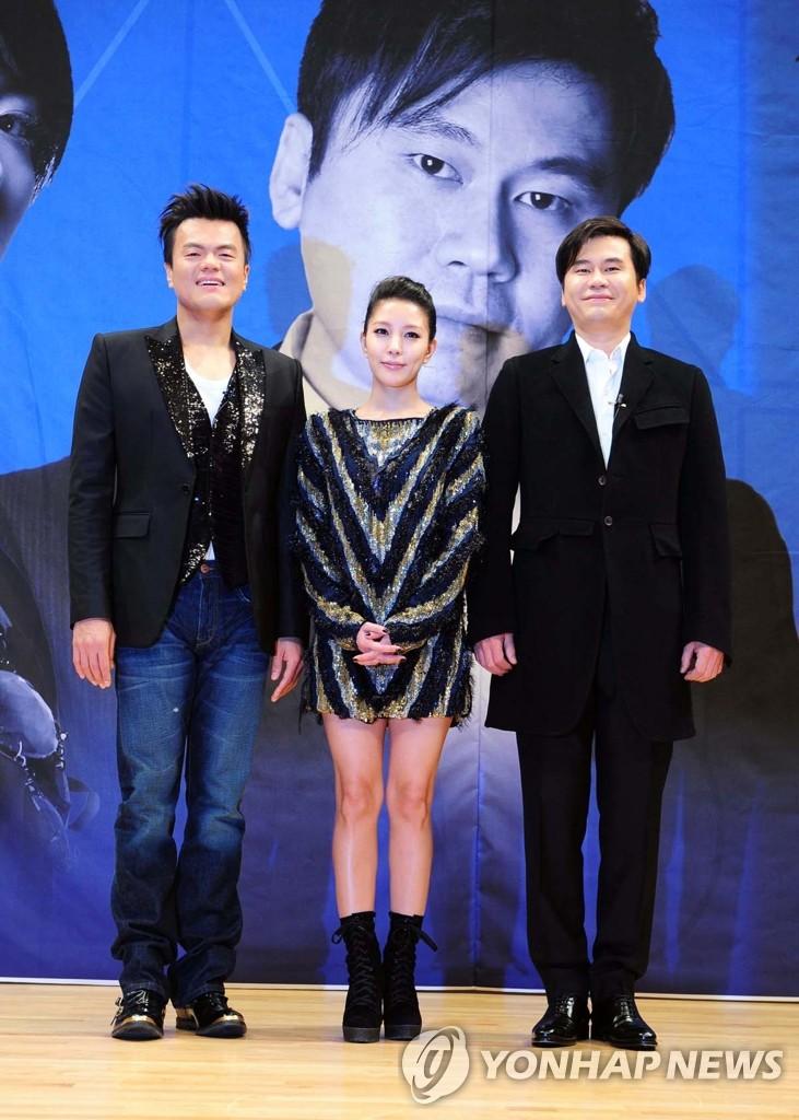 选秀节目《K-pop Star》评审委员
