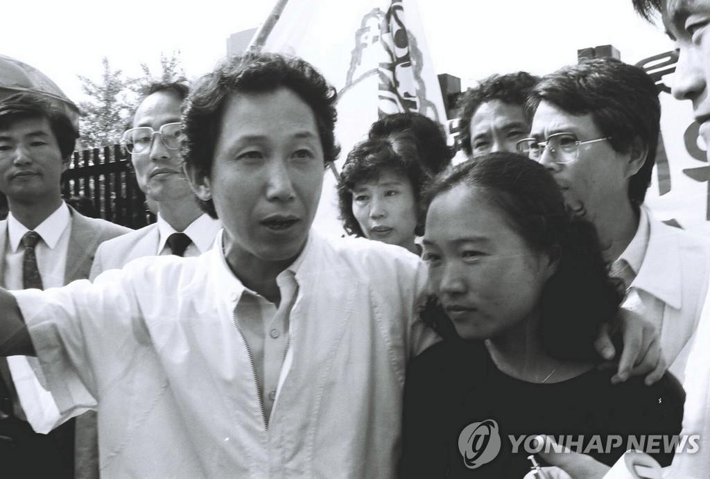 韩国民主化之父金瑾泰去世
