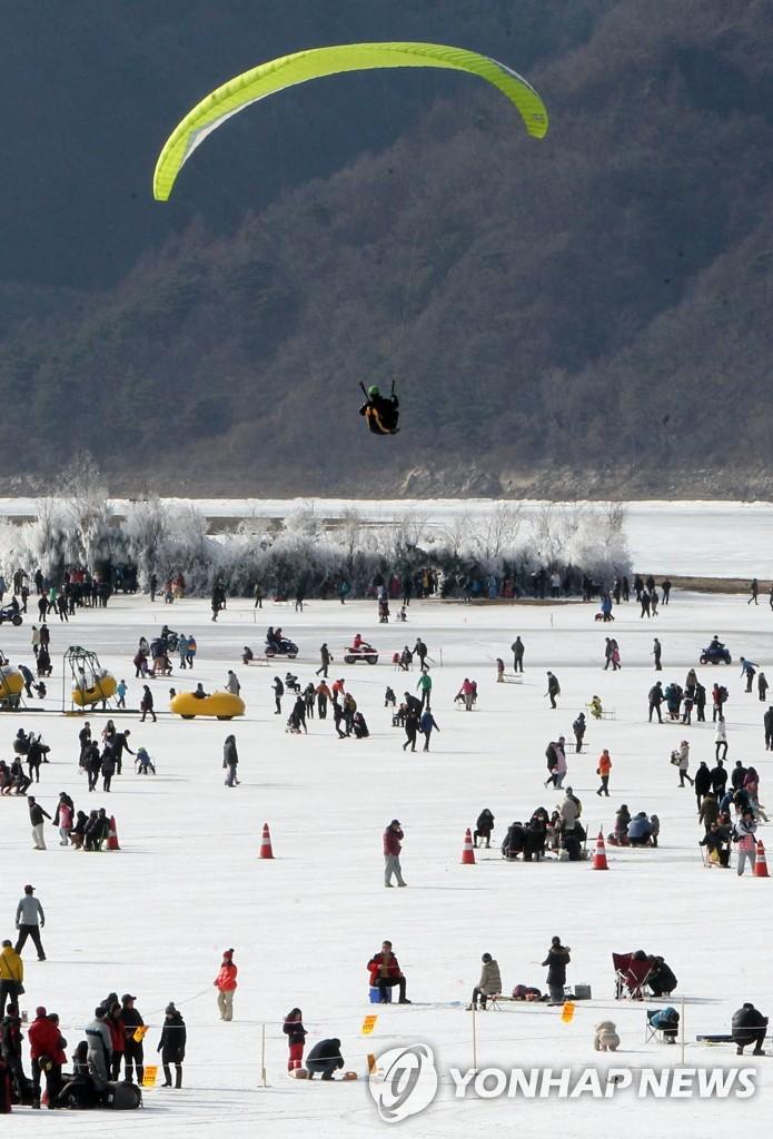 麟蹄冰鱼节开幕
