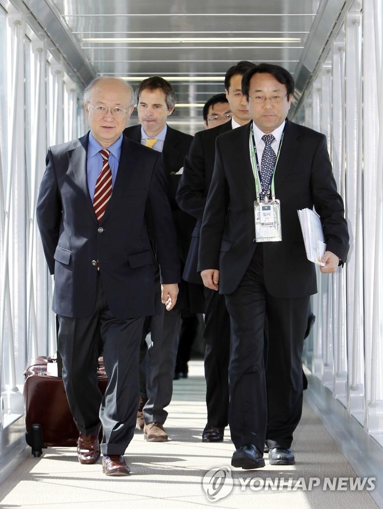 IAEA总干事抵韩
