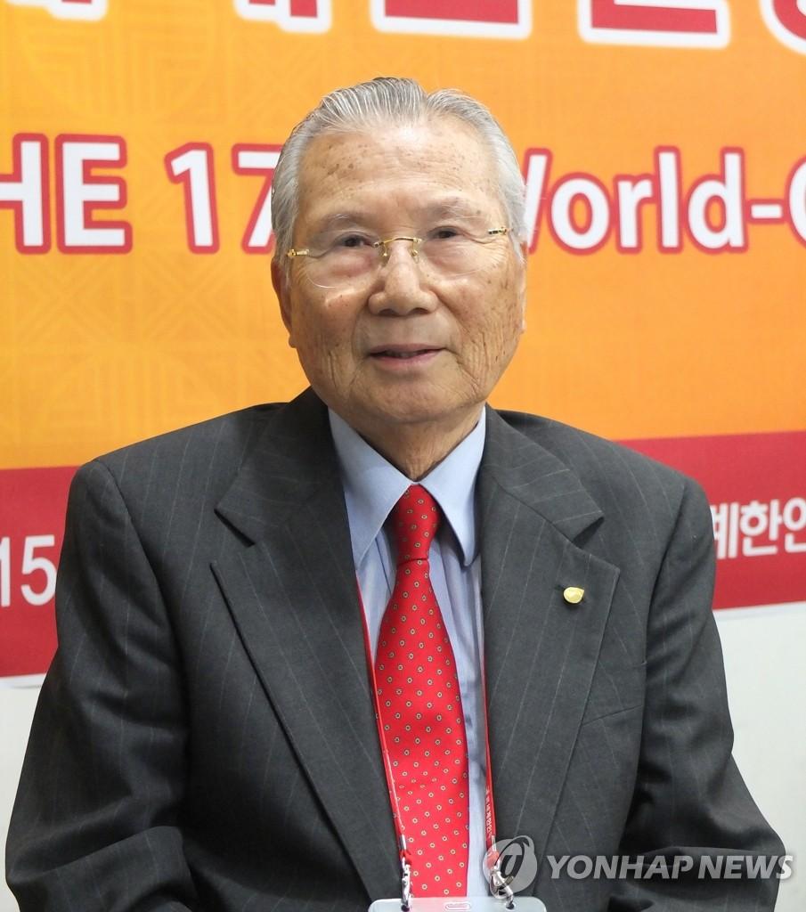 世界韩人贸易协会首任会长